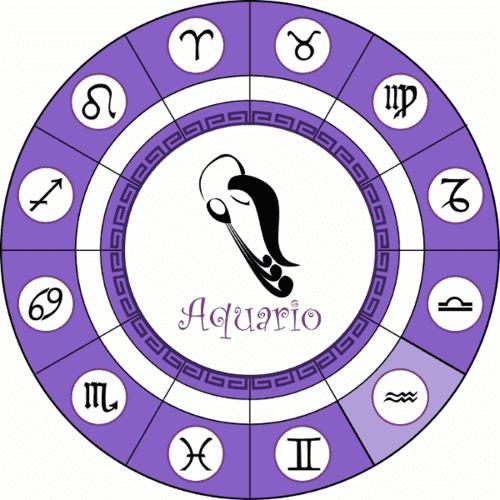 Signo do Aquário (amphota)