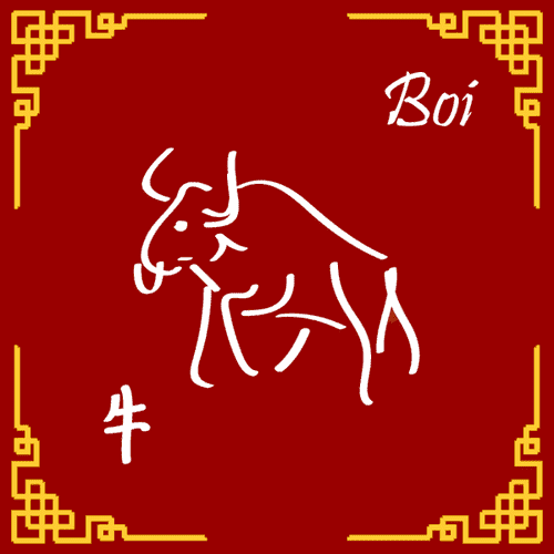 Signo do ano do Boi (Niú)
