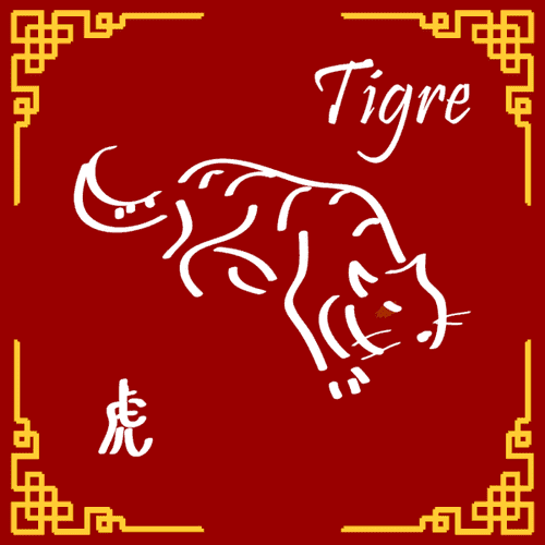 Signo do ano do Tigre (Hu)